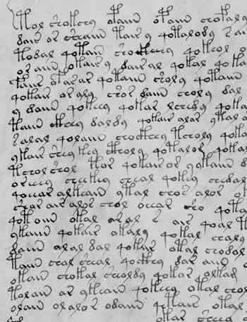 Ecriplume archive du blog l trange manuscrit de voynich - Le salon du manuscrit ...